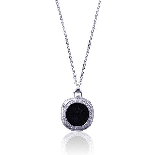 Preisvergleich Produktbild Anhänger MIA mit Halskette für Jawbone UP MOVE TM - Silber mit Zirkonia