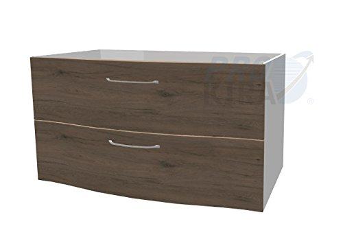 PELIPAL Solitaire 6005 Waschtischunterschrank / AG-WTUSL 01 / Comfort N / B: 97 cm