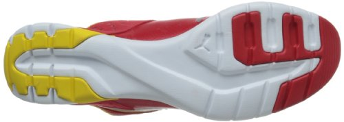 Puma Future Cat Super LT Cuir Chaussure de Course Red-Silver-Dandelion