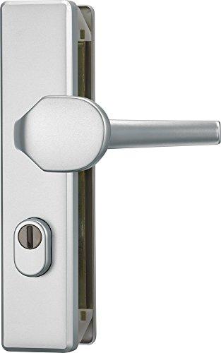 ABUS Tür-Schutzbeschlag KLZS714 F1, mit Zylinderschutz eckig, aluminium, 20354