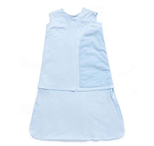SUNLIFE Sac de Couchage pour bébé - Couverture de Couchage pour bébé, Couverture de Sac de Couchage pour Nouveau-né Anti-Choc avec Longueur Ajustable 52-57cm pour bébé de 0 à 3 Mois , été,0.5 Tog