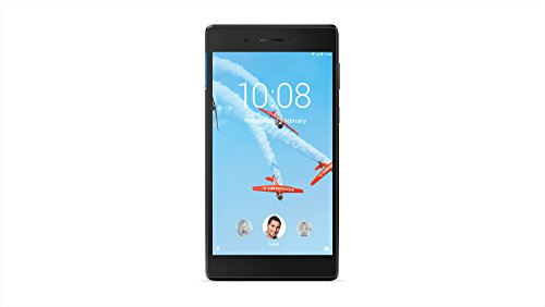 "Foto Lenovo Tab 7 Tablet, Display 7"" HD, Processore MediaTek, 16 GB Espandibili fino a 64 GB, RAM 1 GB, WiFi, Android 7.1.1, Slate Black"
