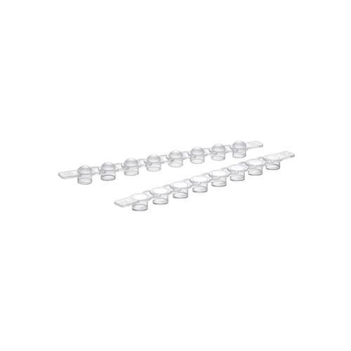 EPPENDORF 30124537PCR-Tube mit Dünnwandigen Deckel, 0,5ml Kapazität (500Stück)