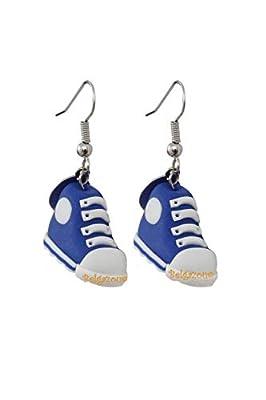 Lady-Charms - fait-main - Boucles d'oreilles Baskets
