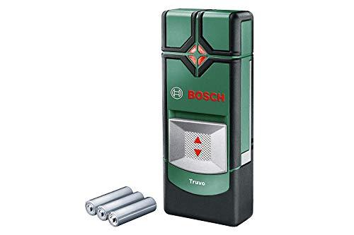 Bosch Truvo - Detector digital 3 pilas AAA, profundidad de detección máx.: 70 mm, estuche