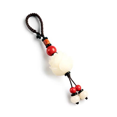 und Ornament klar Bodhi Key Schnalle Anhänger Bodhi Lotus Schlüsselanhänger kreative Geschenk ()