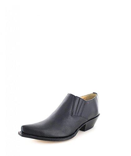 Sendra Boots4133 - Bottes Western Unisexes - Adulte Noir (noir)