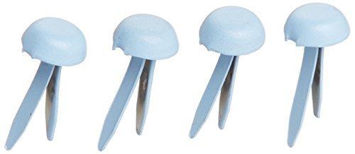 Doodlebug Design-mini-brad (Brads - Mini Doodlebug Designs Mini Brads, Bubble Blue by Brads - Mini)