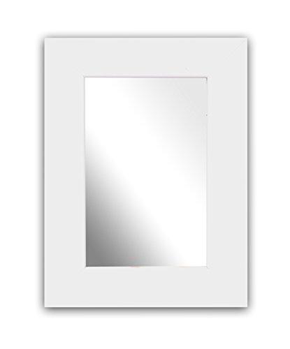 Inov8-6-x-1016-cm-x-British-marco-de-madera-de-espejo-4-unidades-blanco