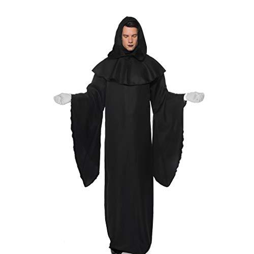 Für Erwachsenen Schwarzen Pharao Kostüm - Halloween Kostüm Herren Damen Unisex Dämonen