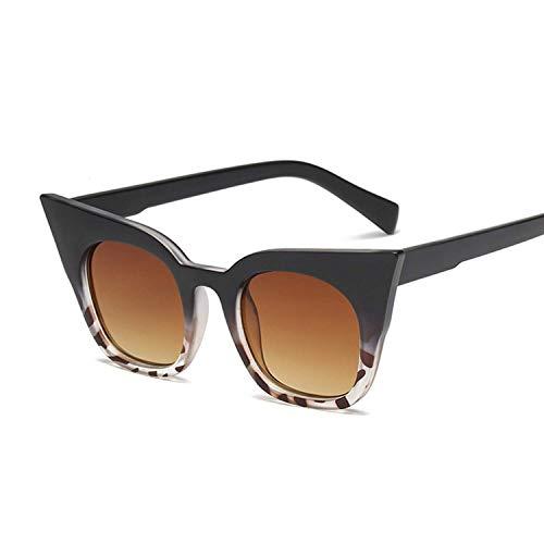 FGRYGF-eyewear2 Sport-Sonnenbrillen, Vintage Sonnenbrillen, Black Oversized Cat Eye Sunglasses Women Vintage Retro Luxury Sun Glasses Color Mirror