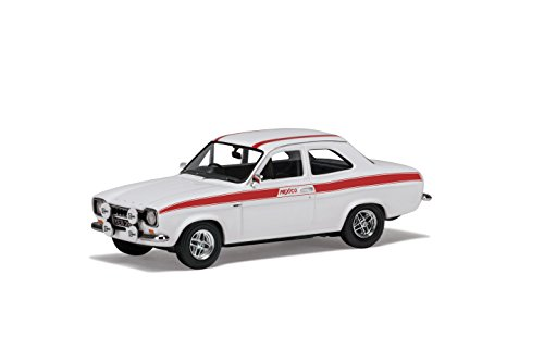 Twin-motor-modell-flugzeug (Corgi va09519 Ford Escort MK1 Mexiko 60th Anniversary Collection Modell, Diamant Weiß)