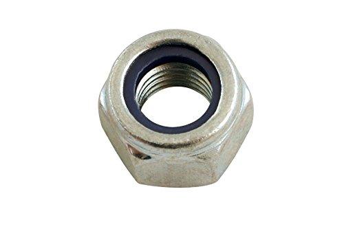 Connect 31353 Nyloc M5 Ecrou en acier Système métrique Boite De 200