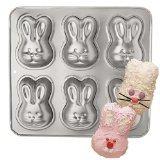 Wilton Mini Cakes Bunny Rabbit Pan Mold ~ 6 Bunnies per Pan by Wilton