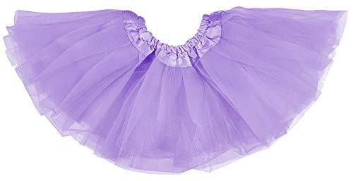Dancina Baby und Neugeborenen Tüllrock Tutu für 0 bis 24 Monate Lavendel 0-5 - Billig Neugeborenen Kostüm