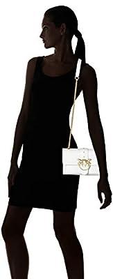 Pinko Mini Love Soft Tracolla Vitello Seta+borchiette - Shoppers y bolsos de hombro Mujer de Pinko