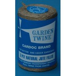 200g Cardoc Garden Twine 3 Ply Natural Jute Fillis