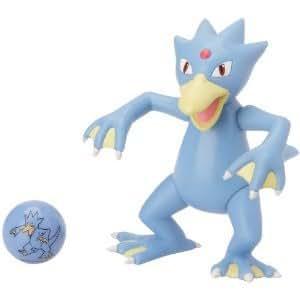 Figurine Pokemon Golduck Akwakwak + 1 bille marble