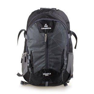HTRPF Outdoor tragbare Bergsteigen Tasche wasserdichte Männer und Frauen Outdoor-Reise Rucksack Sport-Paket Black