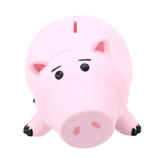 OGAWOO Animal Piggy Bank Sparen Münze Spardose Geschichte Piggy Bank Rosa Schwein Sparbüchse Kinder Geschenk Sparen Sparbüchse, 1