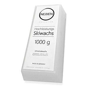 NEBEN Innovation Hochleistungs Skiwachs Universal All-in-One, 1000g