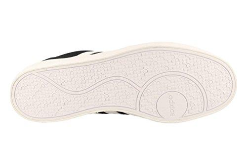 adidas Court Vulc, Chaussures de Fitness Homme, Rouge Noir (noir essentiel / blanc Footwear / noir essentiel)