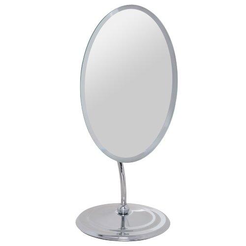 Howards Pedastal Table Oval Mirror 20.5CM