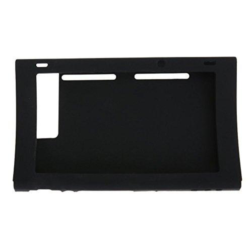 Chickwin Nintendo Switch Coque Housse Silicone de protection Peaux (Noir)
