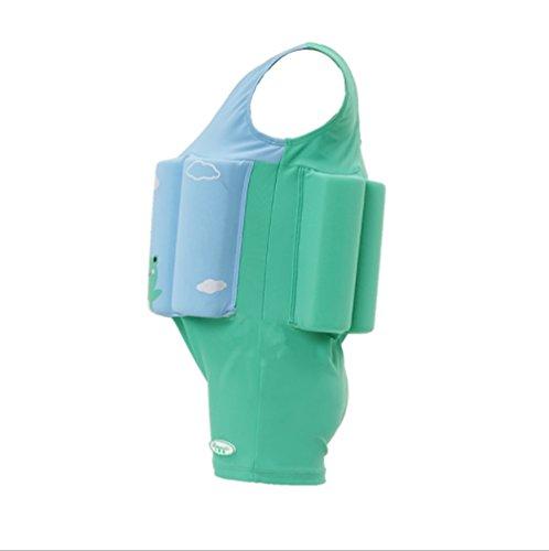LF-Water Toys Schwimmanzug-Kinderbabyauftriebsbadeanzug der Kinderschwimmweste,M