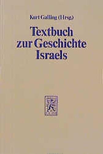 Textbuch zur Geschichte Israels