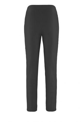 Stehmann LOLI-742 bequeme, stretchige Damenhose, mit schmalem Bein Schwarz