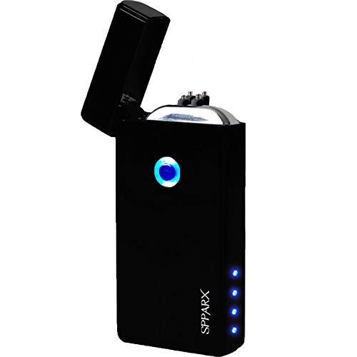 SPPARX USB Feuerzeug, Lichtbogen Feuerzeug, Neue Technologie - Elektronisches Feuerzeug der neuen Generation, Plasma Feuerzeug, elektronisches Feuerzeug, Doppelbogenstrahl, USB wiederaufladbar