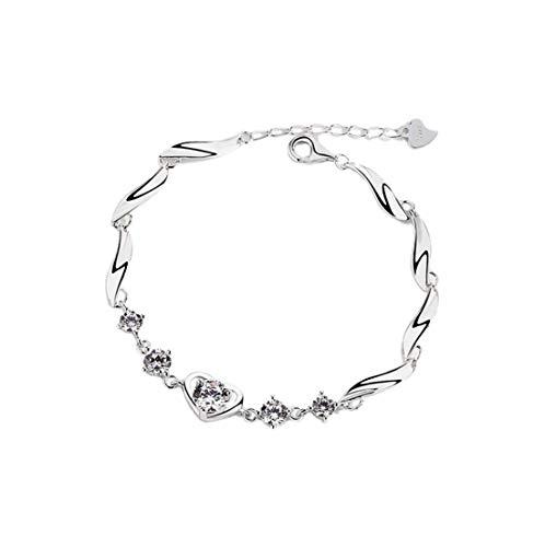 YIYIYYA Damen Armbänder Silber Kristall Pflege Styling Hochzeit Schmuck Für Damen Schmuck Geschenke