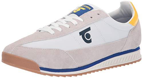 Tretorn Herren Schuhe Sneakers (Tretorn Herren RETRO3 Turnschuh, elfenbeinfarben, 43 EU)