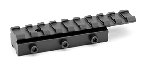 Hammer .22, 762239Armbrust Airgun Scope Rail Adapter Riser 3/20,3cm 11mm Schwalbenschwanz zu Weaver W/STOP-PIN