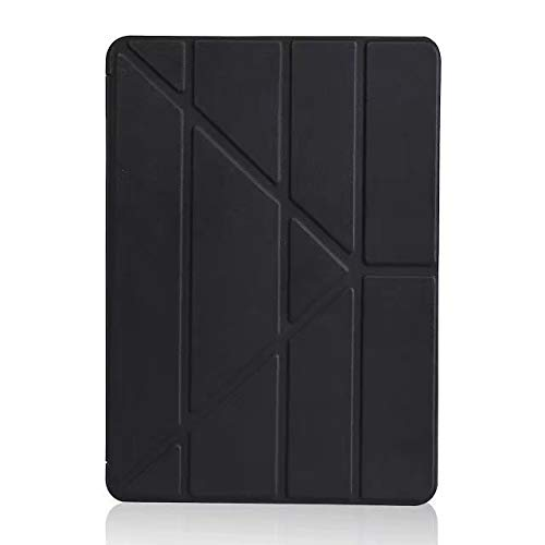 Carriea Hülle für Apple iPad 2018/2017 9,7, Intelligent Schutzhülle mit Ständer Funktion und Auto Einschlafen/Aufwachen, Schwarz