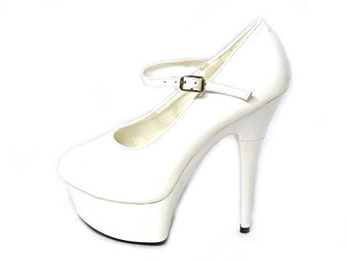 SKOS , Sandales fétiches femme White (13290)