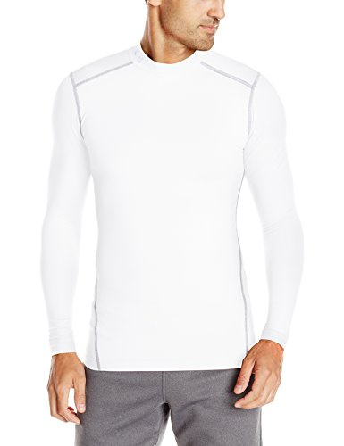 Under Armour Herren Unterhemd UA ColdGear Armour, wht/stl, M, 1265648 (Coldgear Langarm-shirt)