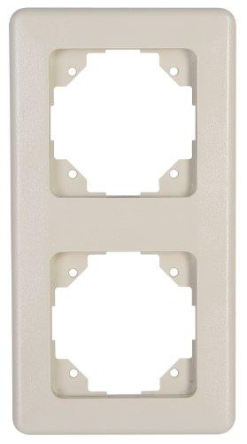 Kopp Profi-Pack 10 x Abdeckrahmen Europa 1 fach creme-weiß Rahmen Neuware Neu
