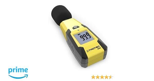 Trotec bs06 schallpegelmessgerät 40 130 db : amazon.de: baumarkt