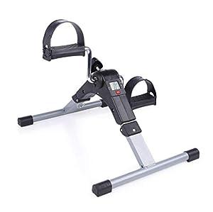 WXX Pedal Exerciser, Medical Pedal Trainer Cornice cromata (esercente Esercitazione Completamente assemblato, Senza Attrezzi necessari)