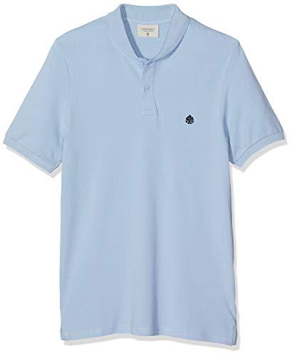 Springfield 6BA Smoking Pique Jersey, Azul (Gama Azules 14), Small (Tamaño del Fabricante:S) para Hombre