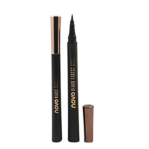 Onlyoily Eyeliner Super Liner Black Lacquer, Lunga Tenuta, Tratto Preciso con Applicatore in Feltro, Nero