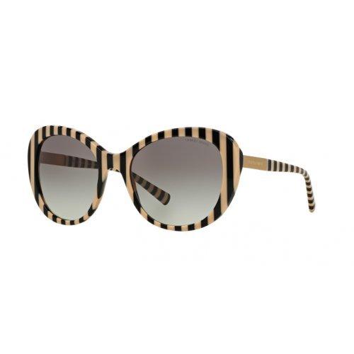 Giorgio Armani Unisex AR8064 Sonnenbrille, Schwarz (Black/Beige 542811), One size (Herstellergröße: 56)