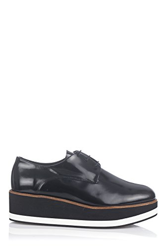 Laura Moretti Bugy Shoes, Creepers femme Noir