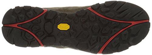 Merrell Capra, Chaussures de trekking et randonnée homme Rouge (Dusty Brown 3)