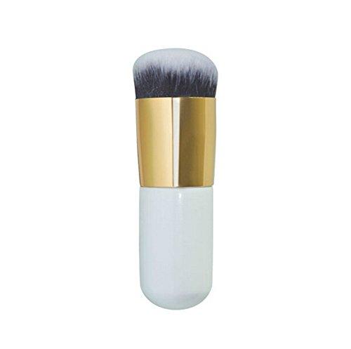 Toruiwa Pinceaux à Fond de Teint Outils Cosmétiques Brosses Professionnels pour Maquillage du Visage Convient pour les Produits Crème, Liquides, Poudres