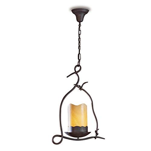 SCHULLER   Lámpara de forja : Colección CANDELA de 1 luz.   Decoracion Hogar