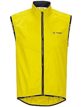 VAUDE Chaleco de ciclismo para hombre, tamaño XXXL, color amarillo (canary)