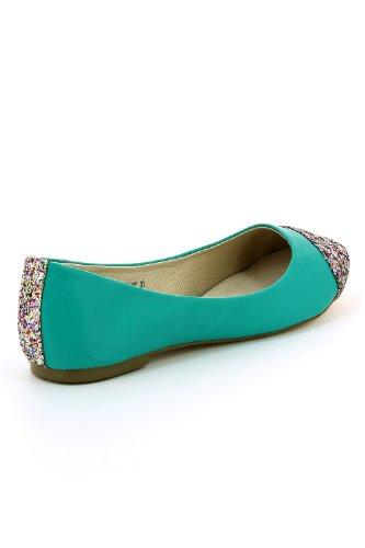 Go Tendance ,  Ballerine donna Verde (verde)